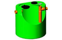Separatoare de grasimi Separatorul de grasimi din polietilena New Design Composite este un vas de limpezire cu functii de separare si indepartare prin sedimentare a materialelor cu greutate mare.