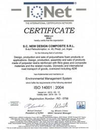 Certificat ISO 14001-2004