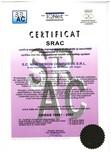 Certificat SRAC OHSAS 18001-2007 NEW DESIGN COMPOSITE