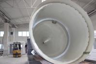 Sedimentatoare si scrubere pentru canal intern sau extern, inele interioare