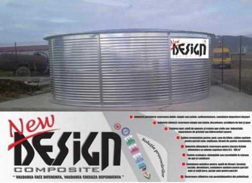 Prezentare produs Rezervoare metalice supraterane NEW DESIGN COMPOSITE - Poza 1