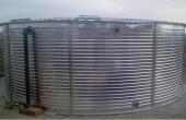 Rezervoare metalice supraterane Rezervoarele din metal New Design Composite se folosesc pentru stocarea apei potabile si a apei utilizate in procesul de productie si crearea de depozite de apa de incendiu.