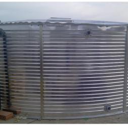 Rezervoare metalice supraterane pentru stocare apa NEW DESIGN COMPOSITE