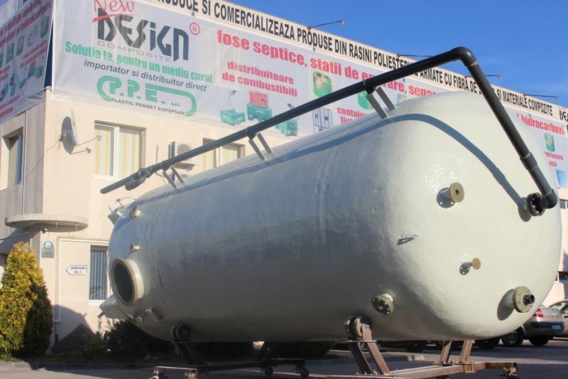 Rezervoare supraterane izolate cu spuma poliuretanica NEW DESIGN COMPOSITE - Poza 3