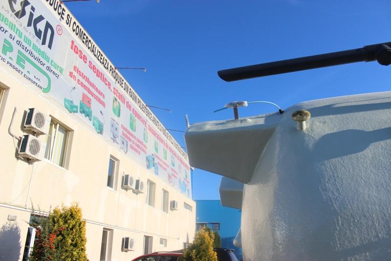 Rezervoare supraterane izolate cu spuma poliuretanica NEW DESIGN COMPOSITE - Poza 5
