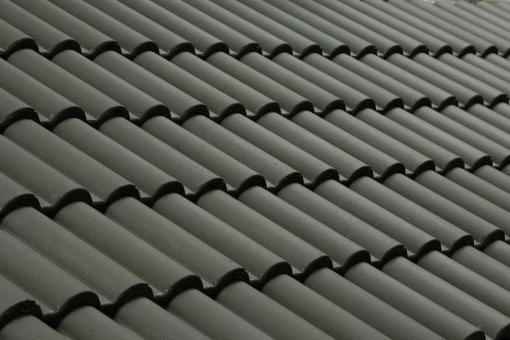 Tigle din beton antracit TERRAN - Poza 2