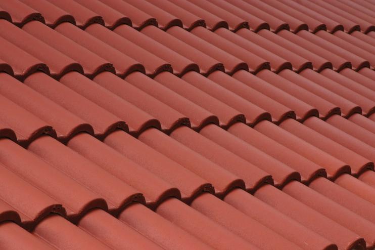 Tigle din beton rosu TERRAN - Poza 2