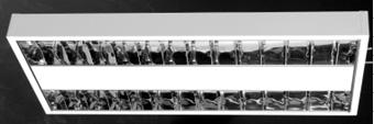 Corpuri de iluminat comercial - plafoniere fluorescente ALMALUX LIGHTING - Poza 2