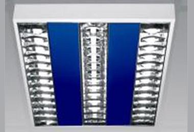 Corpuri de iluminat comercial - plafoniere fluorescente ALMALUX LIGHTING - Poza 3