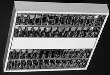 Corpuri de iluminat comercial - plafoniere fluorescente ALMALUX LIGHTING - Poza 1