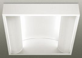 Corpuri de iluminat comercial - plafoniere fluorescente ALMALUX LIGHTING - Poza 6