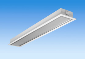 Corpuri de iluminat comercial - plafoniere fluorescente ALMALUX LIGHTING - Poza 10