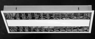 Corpuri de iluminat comercial - plafoniere fluorescente ALMALUX LIGHTING - Poza 18