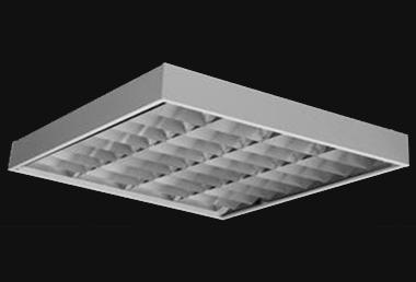 Corpuri de iluminat comercial - plafoniere fluorescente ALMALUX LIGHTING - Poza 23