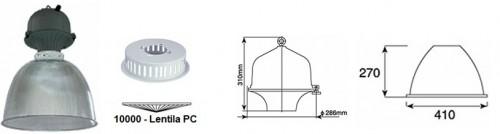 Corpuri pentru iluminat industrial  ARHIMEDE - Poza 1