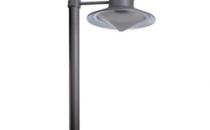 Corpuri de iluminat decorativ Seria PALO - stalpi pentru iluminatul aleilor si al gradinilor. Dispersor din sticla transparenta, grad de protectie IP33, dulie E27. Seria GIORDANO - stalpi pentru iluminatul aleilor si al gradinilor. Corp turnat din aluminiu vopsit in camp electrostatic, culoare neagra. Seria AMIR - stalpi pentru iluminatul aleilor si al gradinilor, inaltime H=555mm, diametru D=150mm. Dispersor din sticla transparenta, grad de protectie IP65, grila din aluminiu, dulie E27.