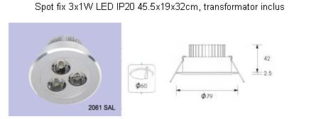 Corpuri pentru iluminat comercial civil ALMALUX LIGHTING - Poza 1