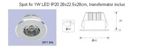Corpuri pentru iluminat comercial civil ALMALUX LIGHTING - Poza 3