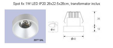 Corpuri pentru iluminat comercial civil ALMALUX LIGHTING - Poza 5
