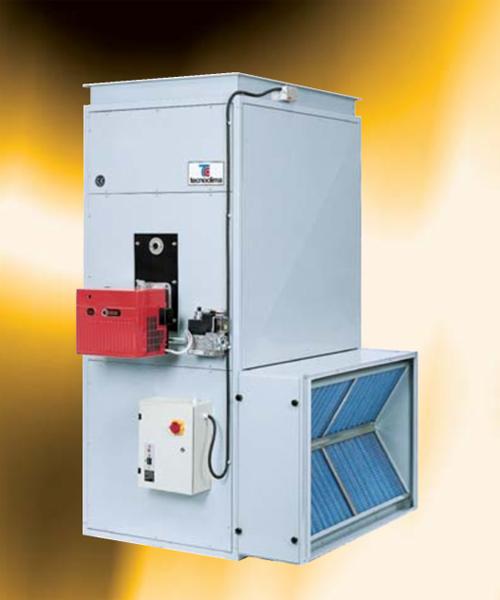 Generatoare de aer cald cu capacitate mare TECNOCLIMA - Poza 2