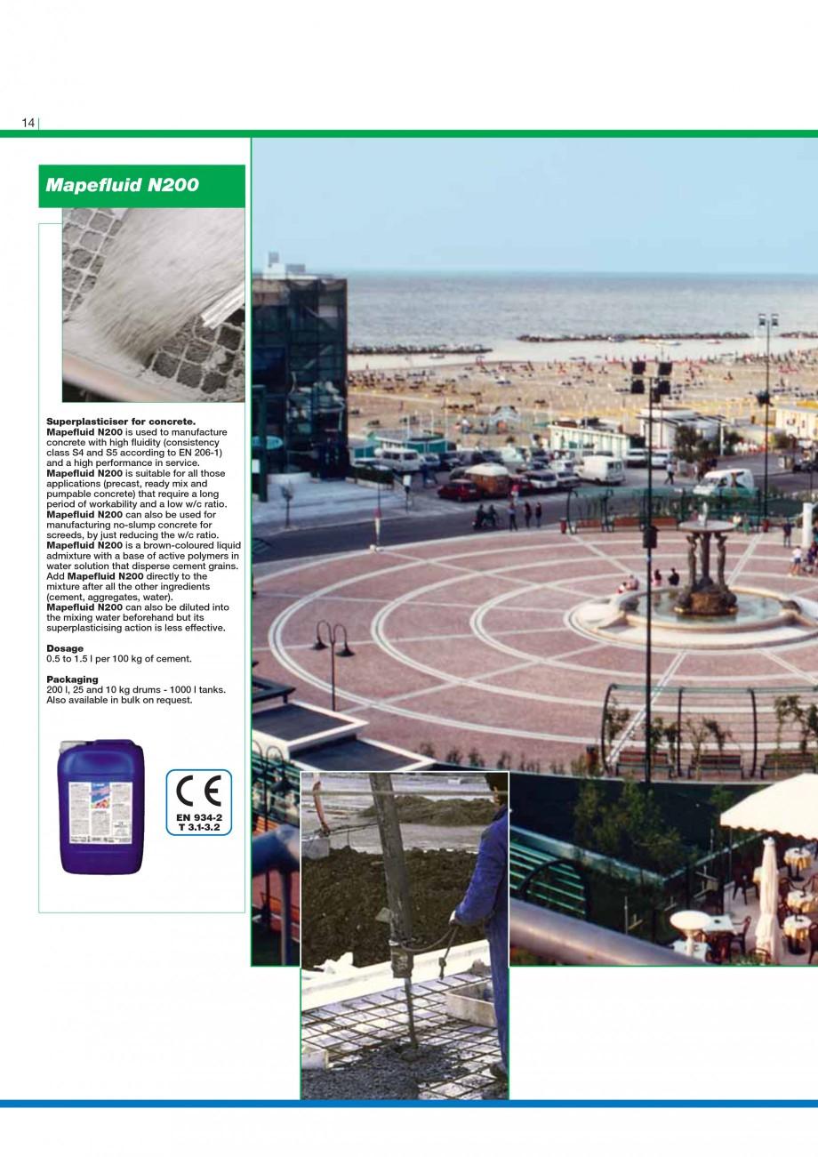 Pagina 16 - Mortare, materiale speciale MAPEI Catalog, brosura Engleza ard Graffiti Remover Gel 103 ...