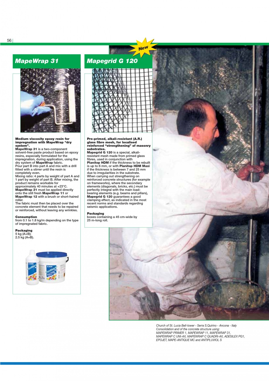 Pagina 58 - Mortare, materiale speciale MAPEI Catalog, brosura Engleza d to traffic approximately 2 ...