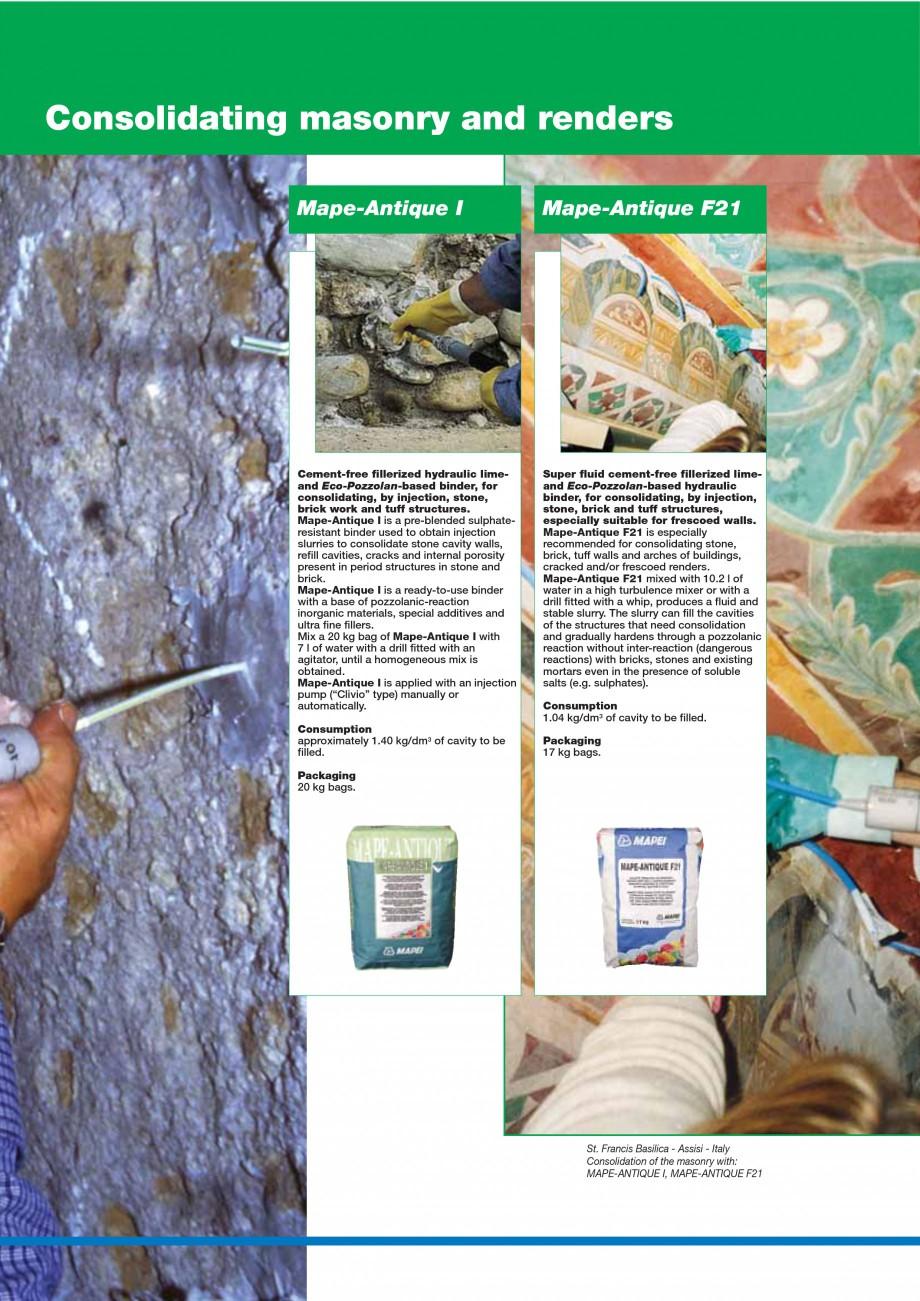 Pagina 82 - Mortare, materiale speciale MAPEI Catalog, brosura Engleza multi-functional centre -...
