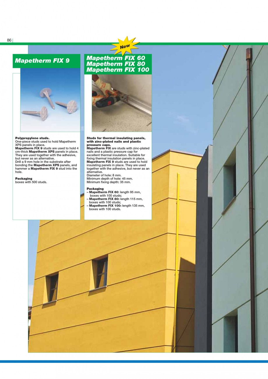 Pagina 88 - Mortare, materiale speciale MAPEI Catalog, brosura Engleza r levelling off surfaces in...