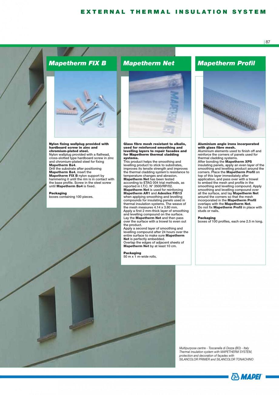 Pagina 89 - Mortare, materiale speciale MAPEI Catalog, brosura Engleza  stone, brick and tuff....