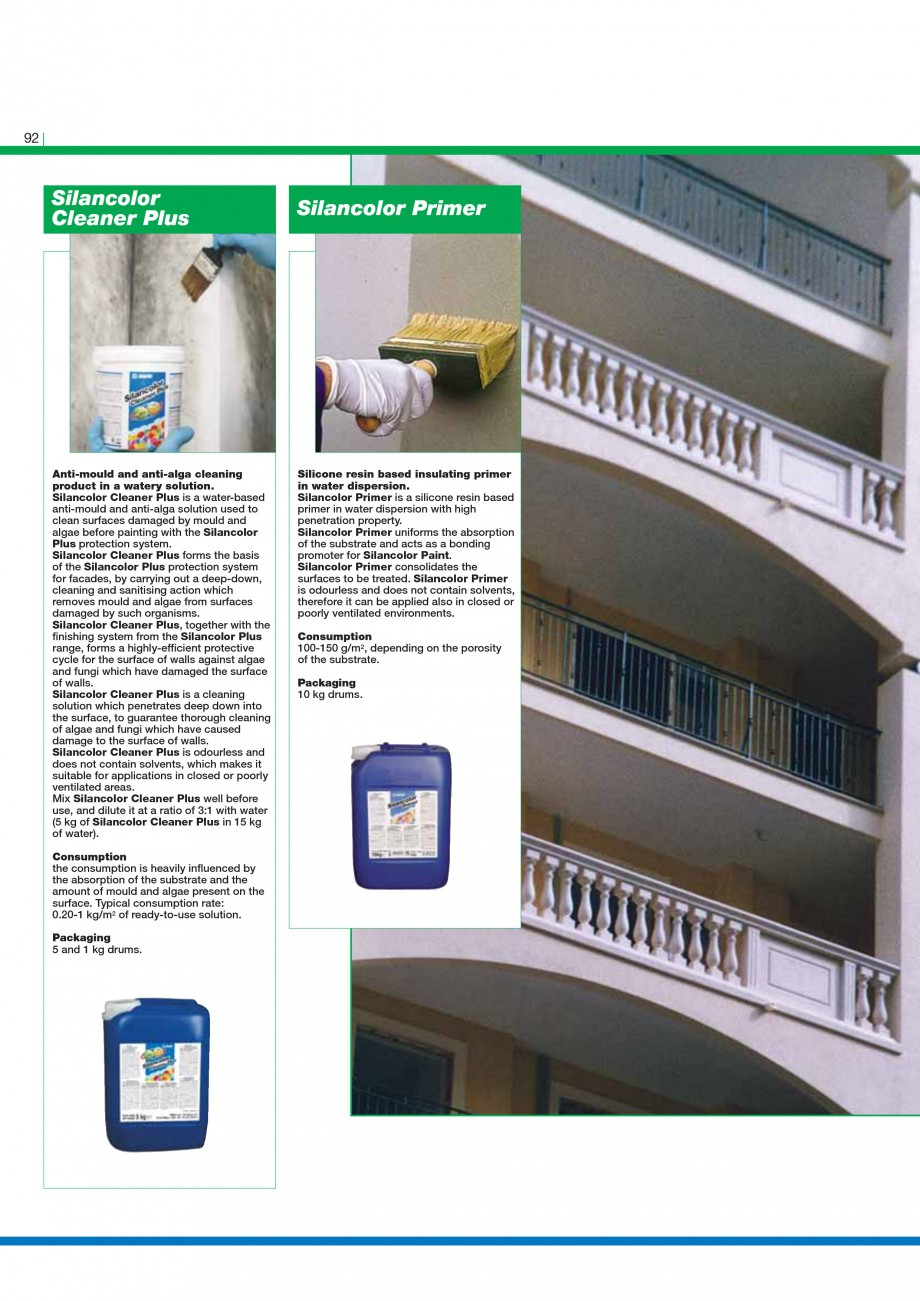 Pagina 94 - Mortare, materiale speciale MAPEI Catalog, brosura Engleza rmediate undercoat with high ...