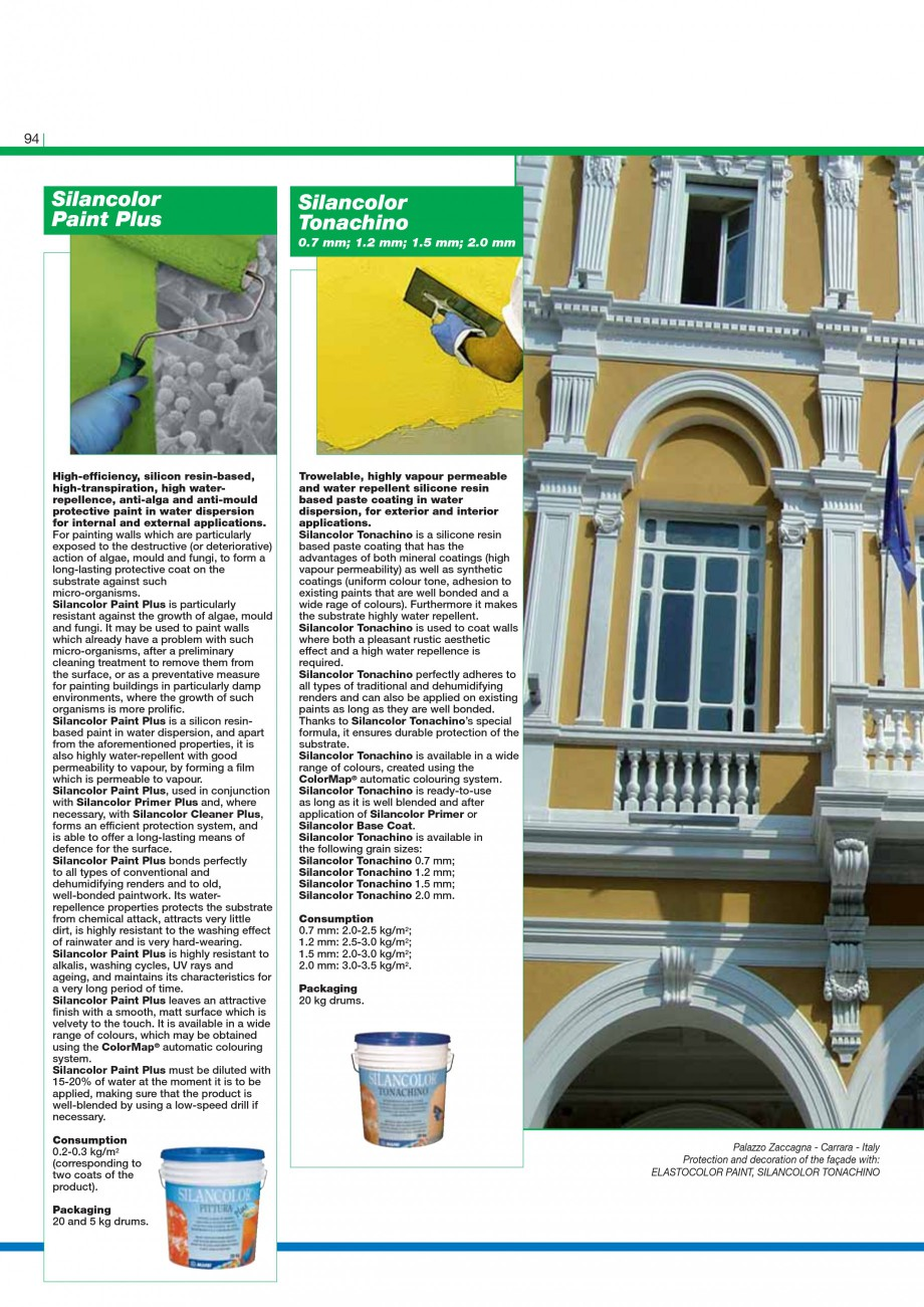 Pagina 96 - Mortare, materiale speciale MAPEI Catalog, brosura Engleza tructural bonding with epoxy ...