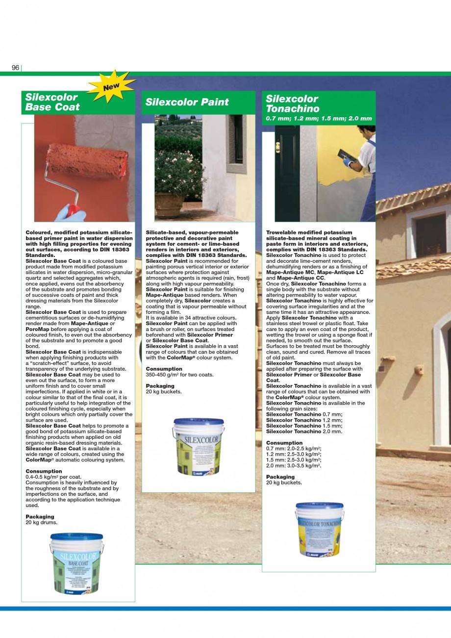 Pagina 98 - Mortare, materiale speciale MAPEI Catalog, brosura Engleza G4  Thixotropic epoxy...