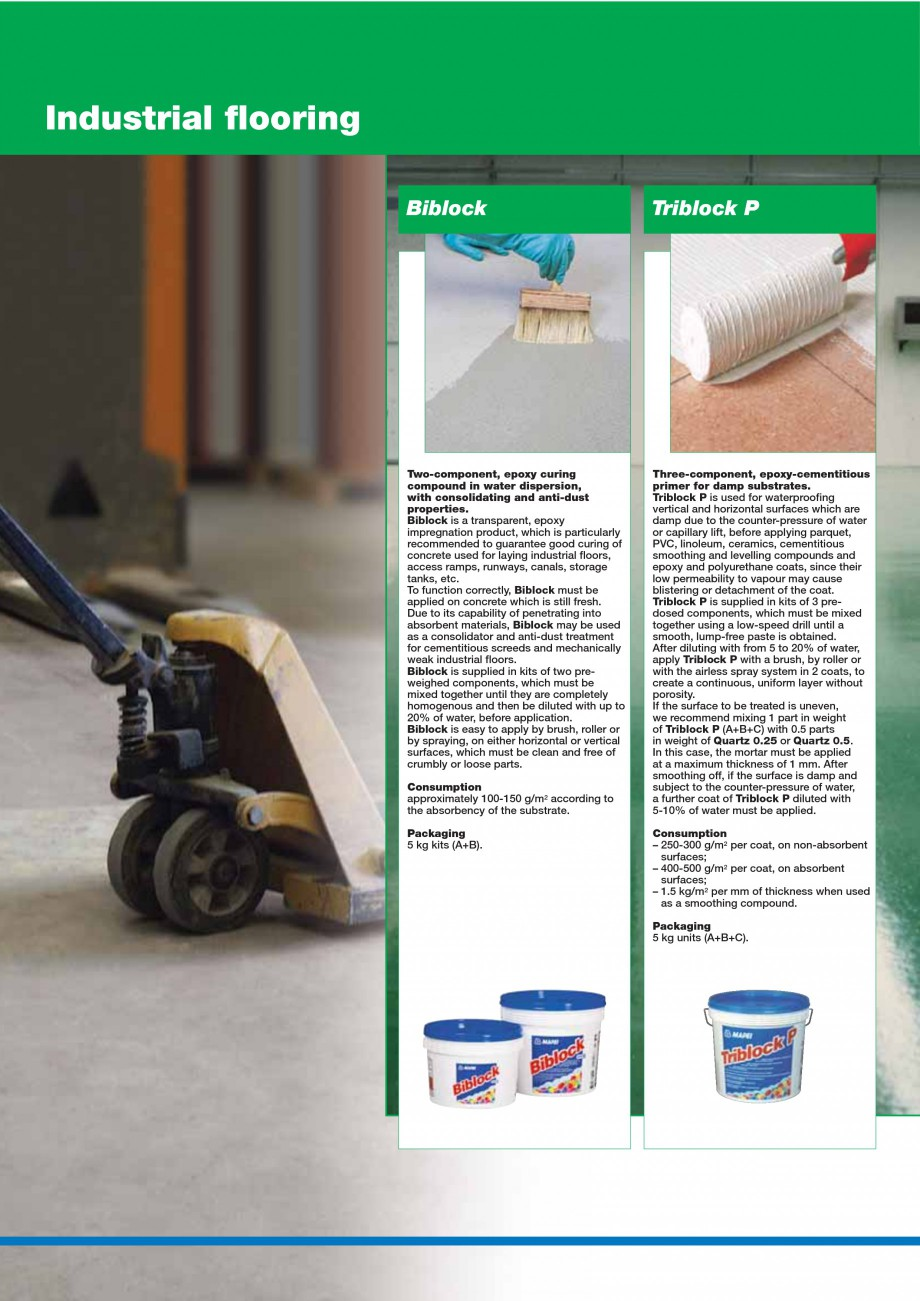 Pagina 112 - Mortare, materiale speciale MAPEI Catalog, brosura Engleza  one 50 m long roll....