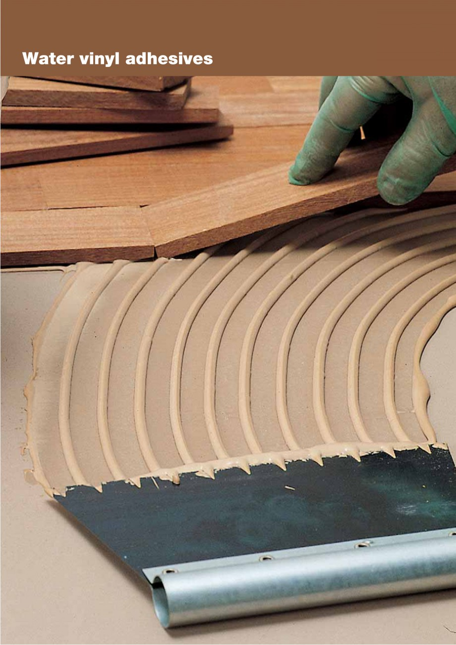 Pagina 42 - Materiale montaj, finisare si intretinere parchet 2011 MAPEI Catalog, brosura Engleza l ...