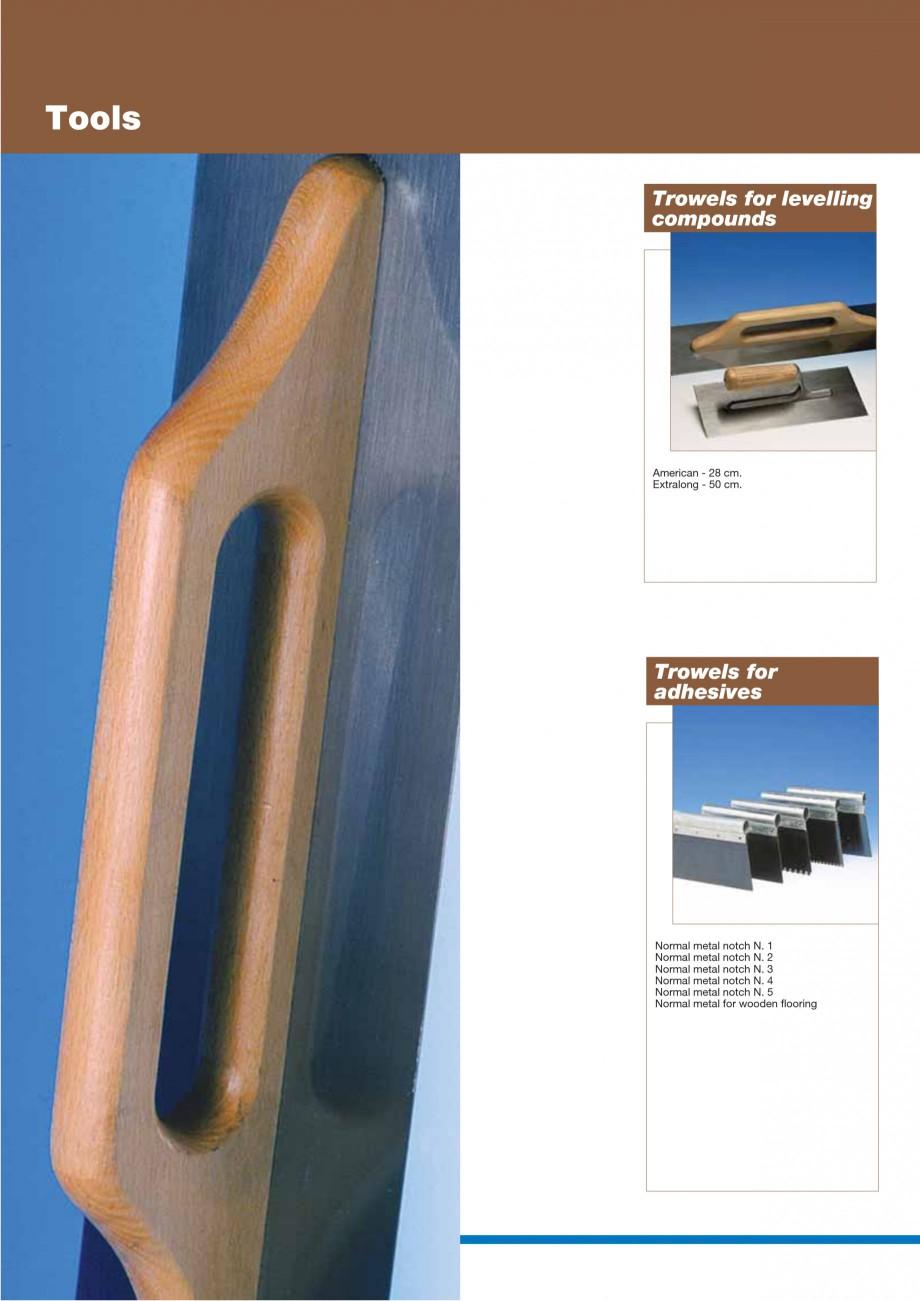 Pagina 76 - Materiale montaj, finisare si intretinere parchet 2011 MAPEI Catalog, brosura Engleza...