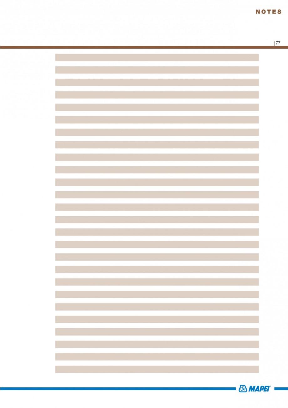 Pagina 79 - Materiale montaj, finisare si intretinere parchet 2011 MAPEI Catalog, brosura Engleza...