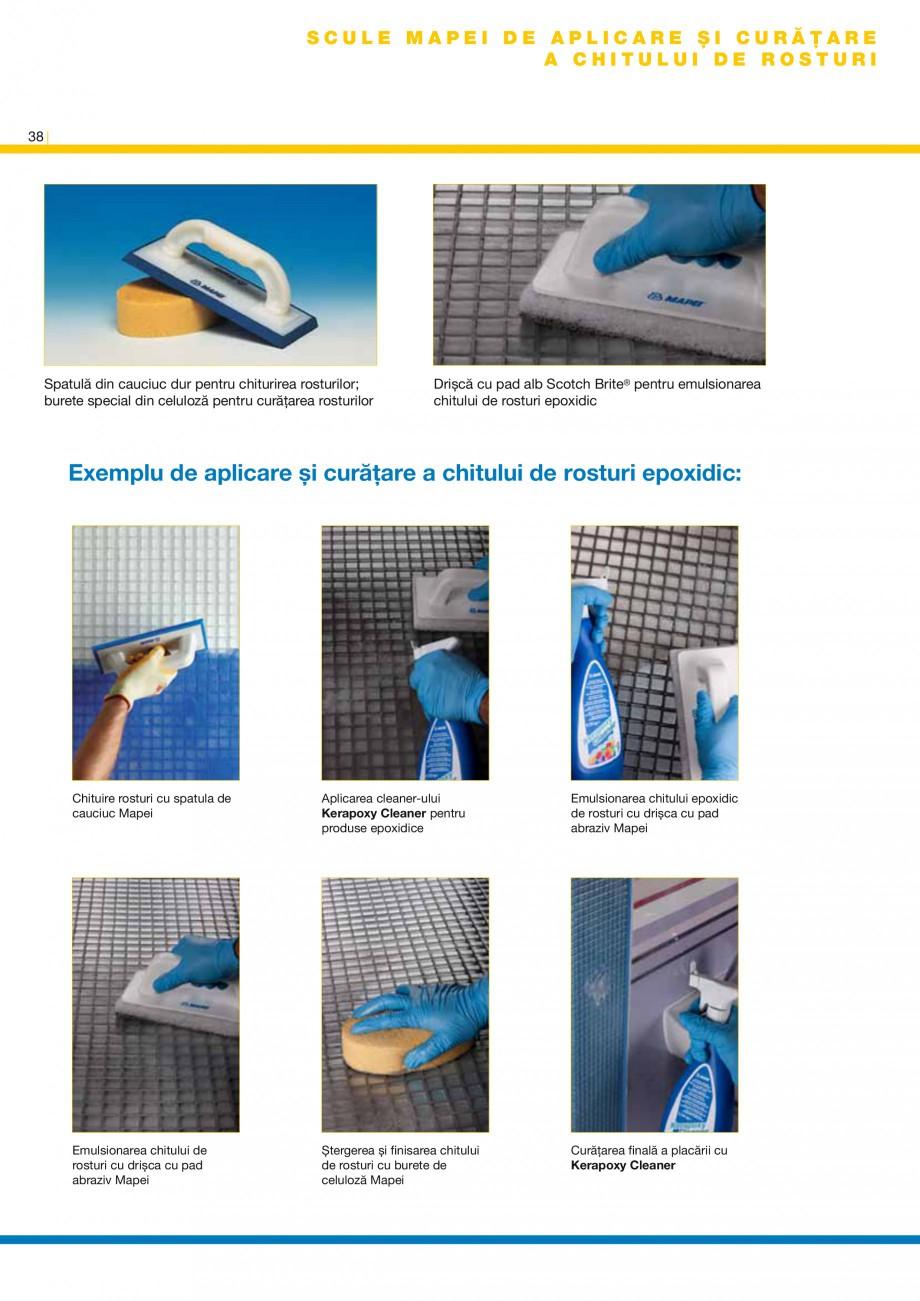 Pagina 40 - Produse pentru montarea placilor ceramice si a placilor din piatra naturala MAPEI...