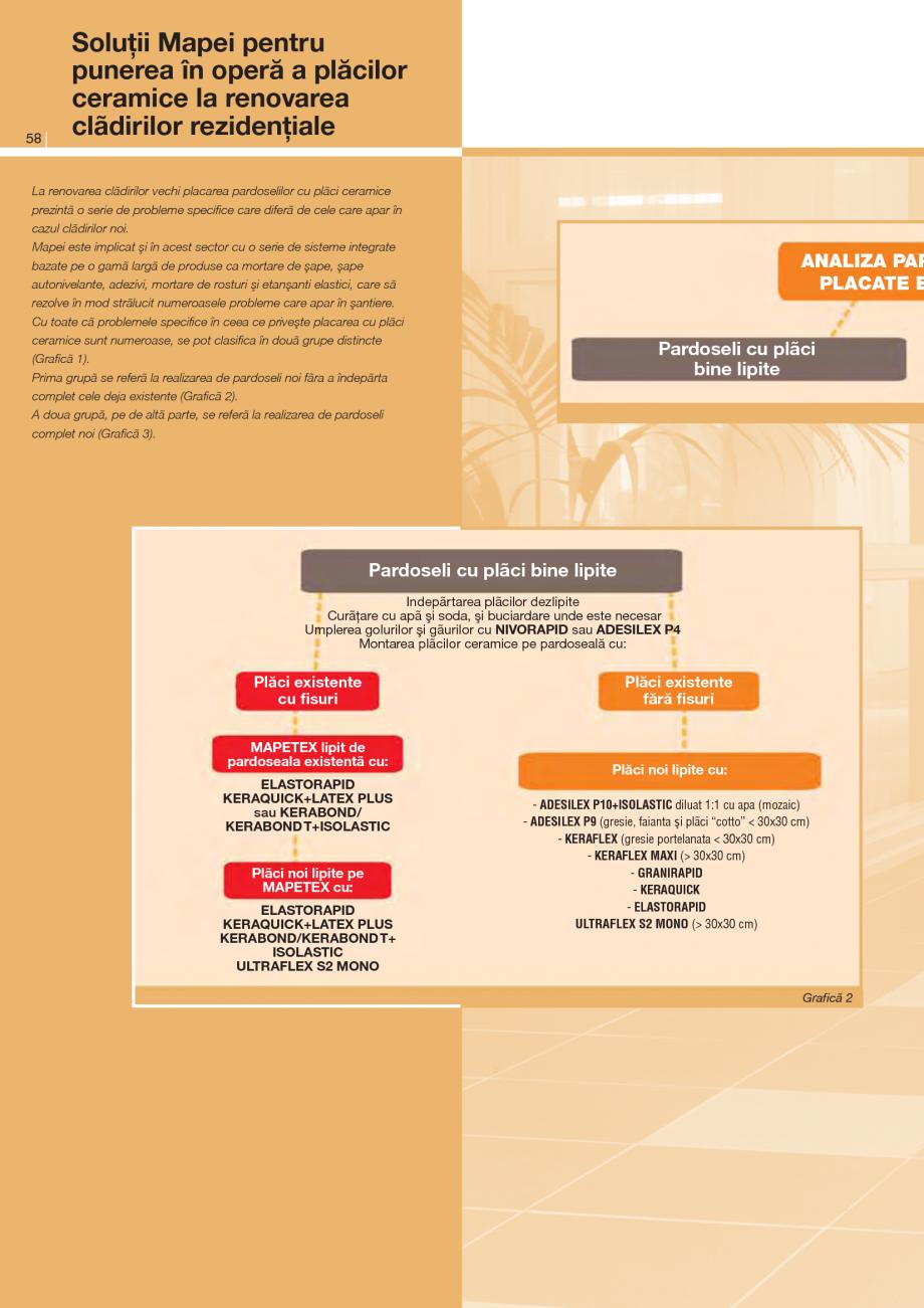 Pagina 1 - Solutii pentru punerea in opera a placilor ceramice la renovarea cladirilor rezidentiale...