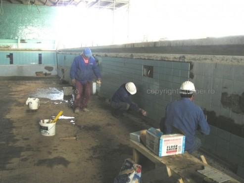 Executie, montaj Granirapid_20 Montare gresie portelanata peste gresie cu Granirapid_detaliu lucrare MAPEI - Poza 20