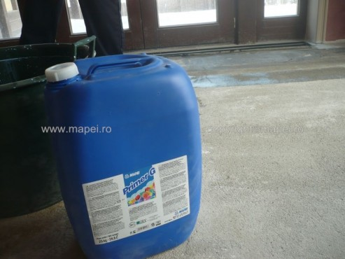 Exemple de utilizare Primer G_5 Amorsa acrilica pentru turnare de autonivelant MAPEI - Poza 5