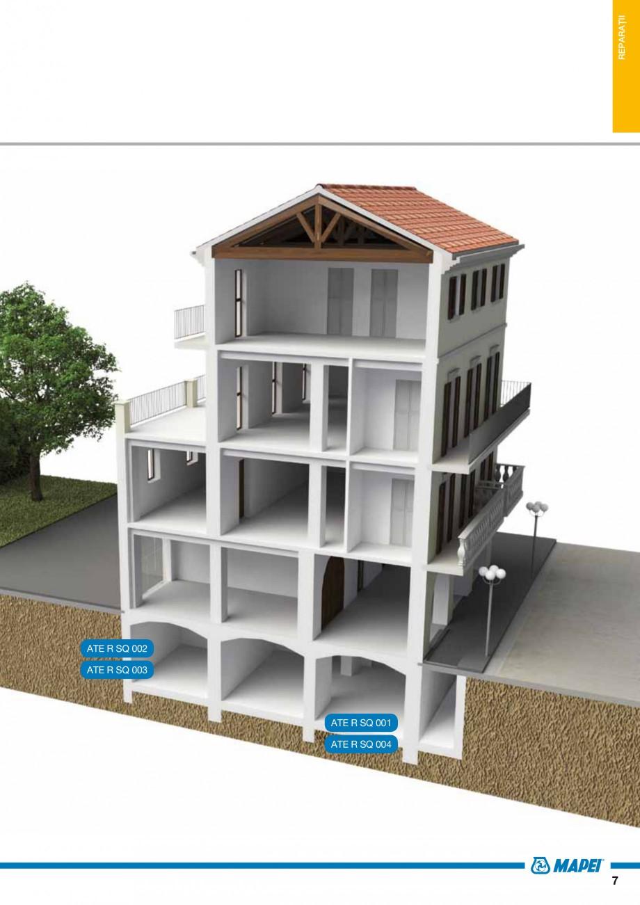 Pagina 9 - Ghid proiectare impermeabilizari solutii  MAPEI Catalog, brosura Romana  4  Beton simplu...