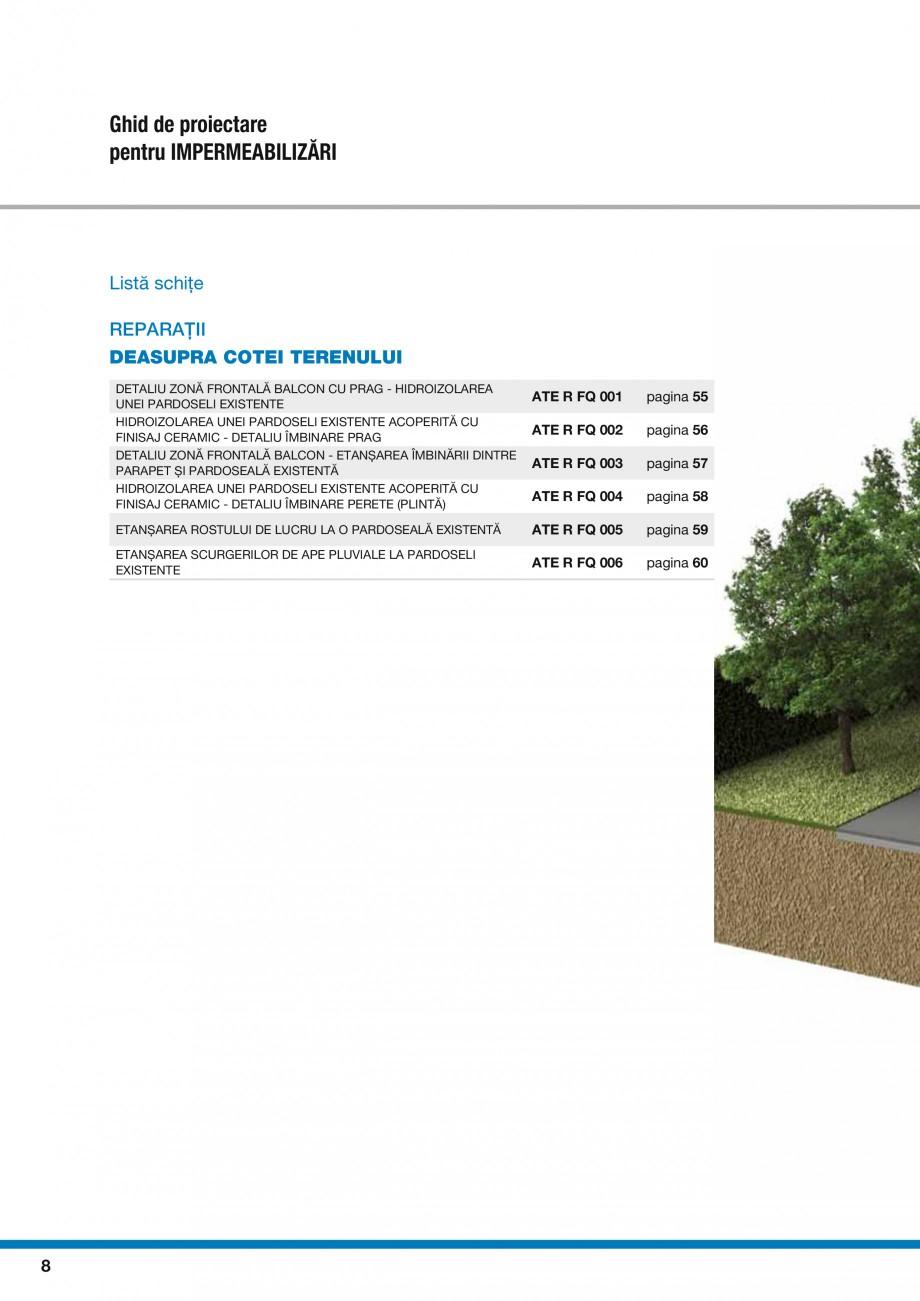 Pagina 10 - Ghid proiectare impermeabilizari solutii  MAPEI Catalog, brosura Romana lu  8  Zid de...