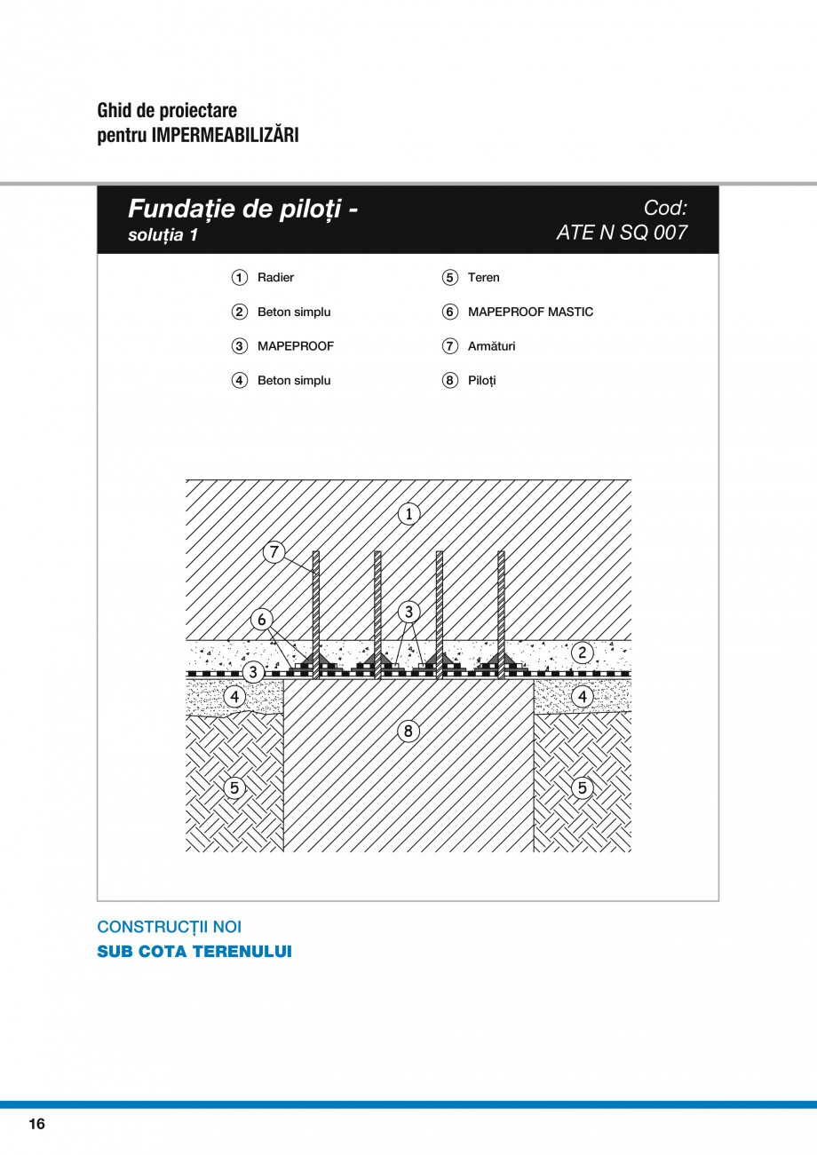 Pagina 18 - Ghid proiectare impermeabilizari solutii  MAPEI Catalog, brosura Romana  36 ...