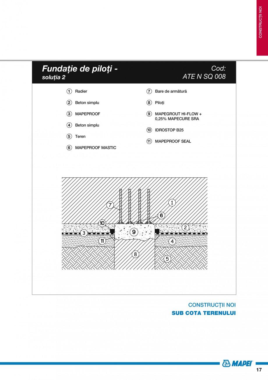 Pagina 19 - Ghid proiectare impermeabilizari solutii  MAPEI Catalog, brosura Romana � de ciment) 9 ...
