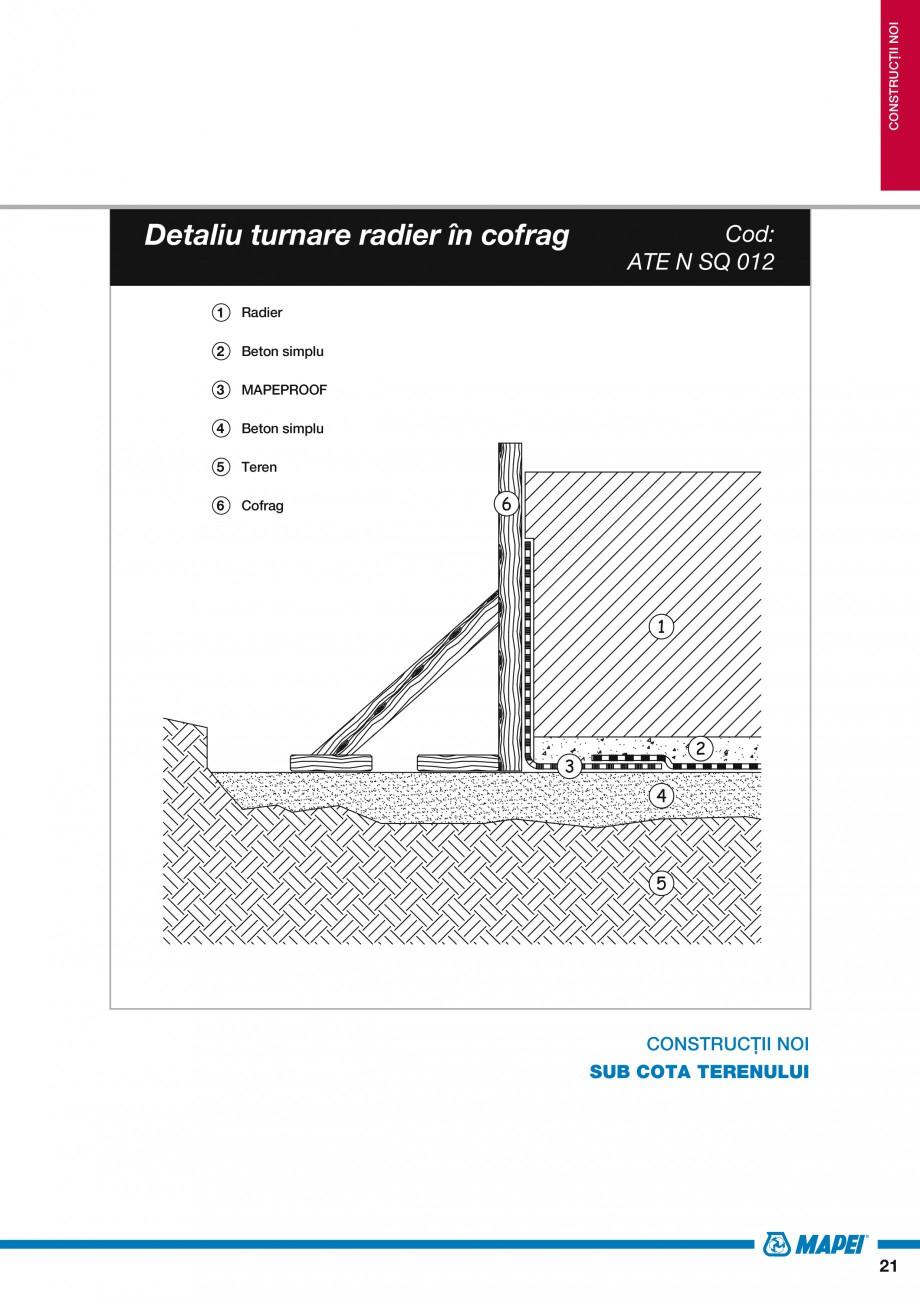 Pagina 23 - Ghid proiectare impermeabilizari solutii  MAPEI Catalog, brosura Romana le la un balcon ...