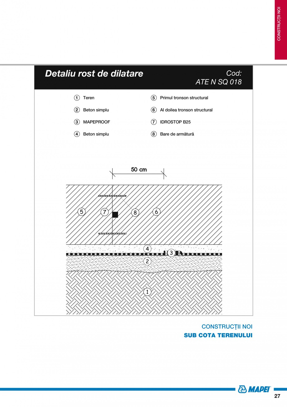 Pagina 29 - Ghid proiectare impermeabilizari solutii  MAPEI Catalog, brosura Romana xistentă  12  ...