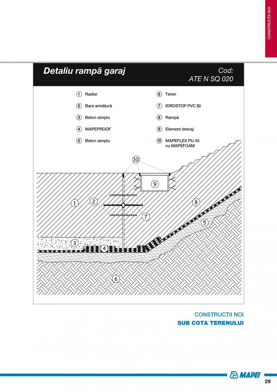 Pagina 31 - Ghid proiectare impermeabilizari solutii  MAPEI Catalog, brosura Romana 3  Ghid de...