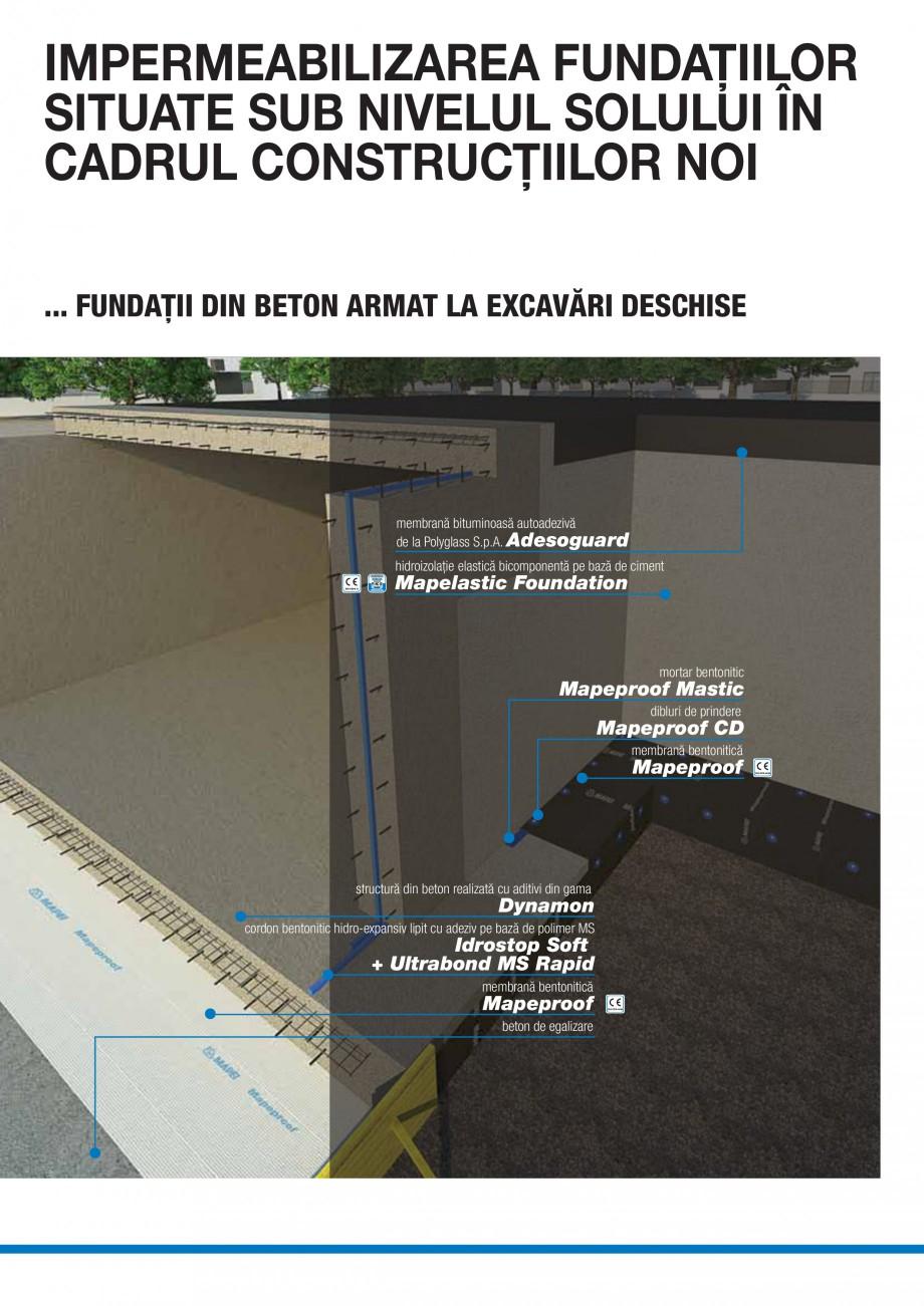 Pagina 2 - Ghid selectie produse pentru impermeabilizari  MAPEI Catalog, brosura Romana ortantă cu ...