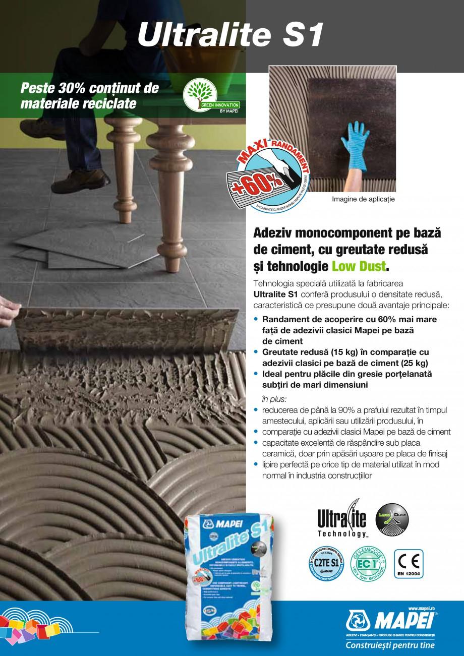 Pagina 25 - Produse pentru montarea placilor ceramice si a placilor din piatra naturala MAPEI...