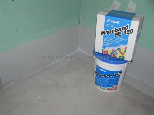 Exemple de utilizare Hidroizolatii flexibile, aplicate anterior placilor ceramice MAPEI - Poza 11